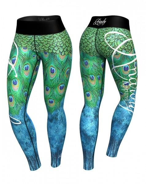 Leggings Peacock Anarchy Apparel Sportleggings