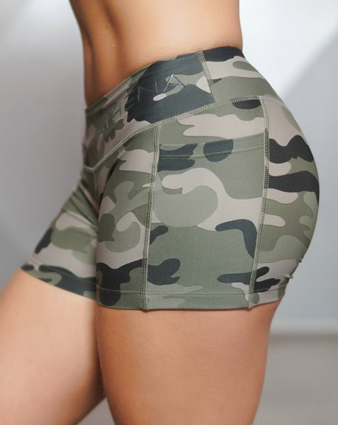 Body Engineers Camo Short