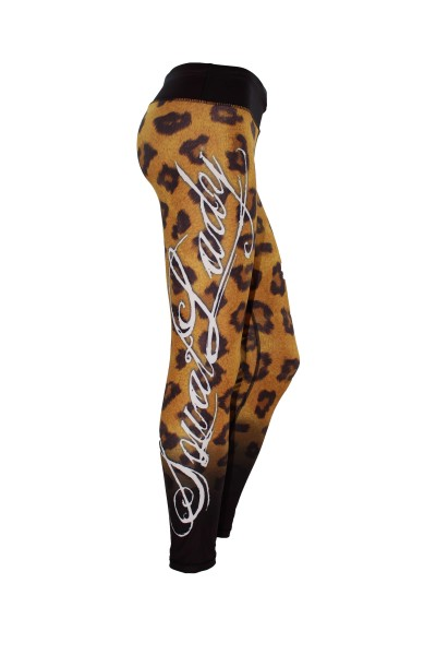 SquatLady Fitnessleggings Leopard