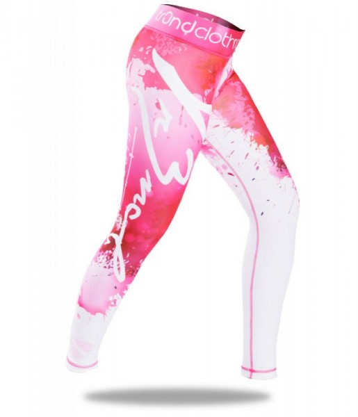 Sport Leggings TR3ND Abstrakt Pink