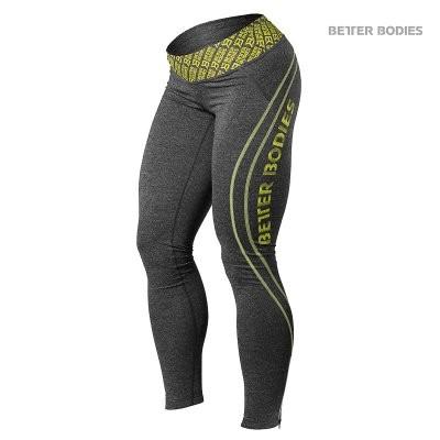 Better Bodies - Leggings - Antrazit Melange