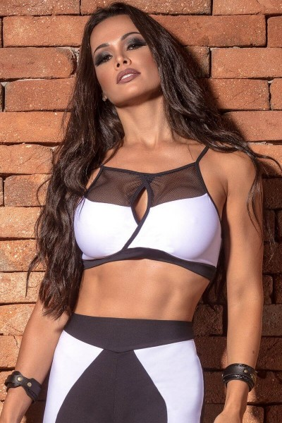 Sports-Bra Army Air Craft HIPKINI