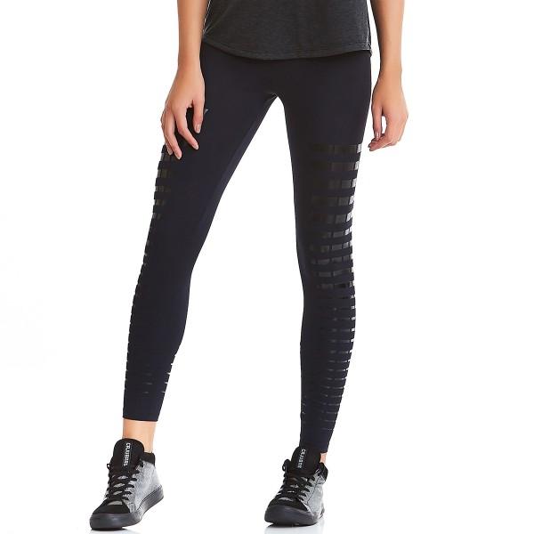 Legging Cajubrasil EMANA Silk Black - Anti Cellulite