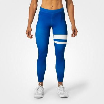 Better Bodies Sport Tight Varsity Stripe Blue 7/8