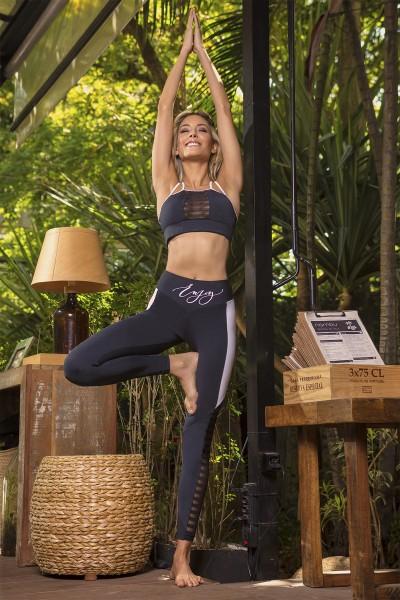 Yoga Leggings Violet Zen HIPKINI LIMITIERT