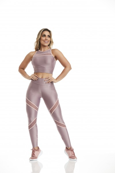 Fitness Legging Atletika Dream Cajubrasil Purple