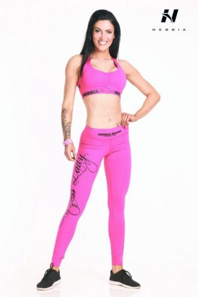 NEBBIA Sport Leggings Supplex Pink