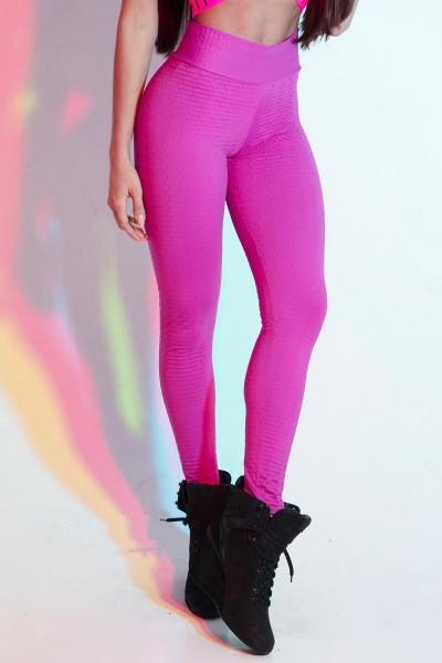 Fitness Leggings Pink Spotlight HIPKINI
