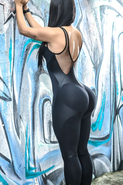 Fitness Overall Apple Booty Black Dynamite