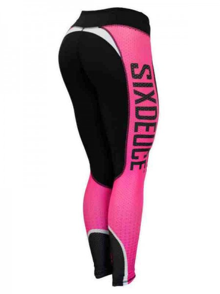 Leggings Beat Mode PINK Six Deuce - Kompression