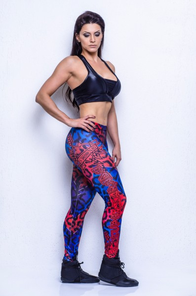 Leggings Hardcore Strong Supersarada Gr. S