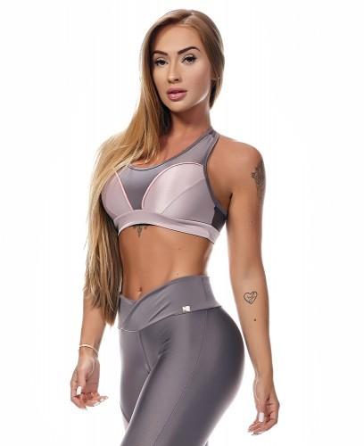 Fitness-Bra Let´s Gym Ametista