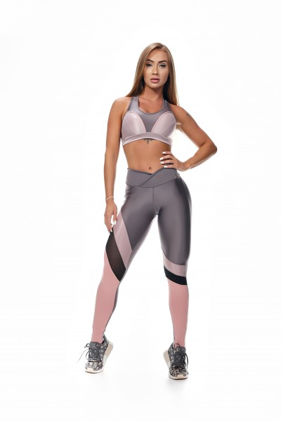 Fitness Leggings LetsGym Ametista Rainbow