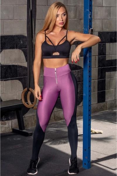 Funktionale Leggings Ns Fitness Lila HIPKINI