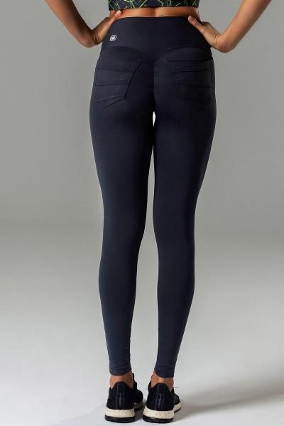Scrunch Butt Leggings Glam Fitness Preta HIPKINI