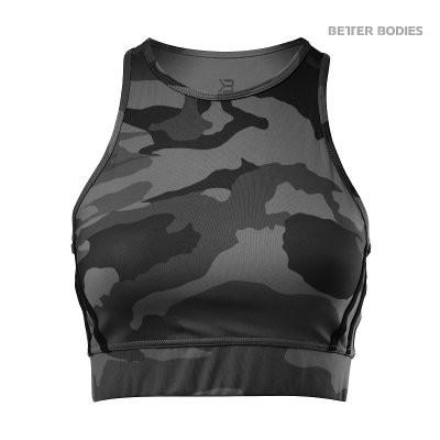 Better Bodies Sport Top Chelsea Black Camo
