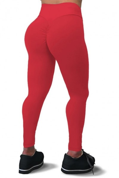 Scrunch Butt Legging Ns Red HIPKINI