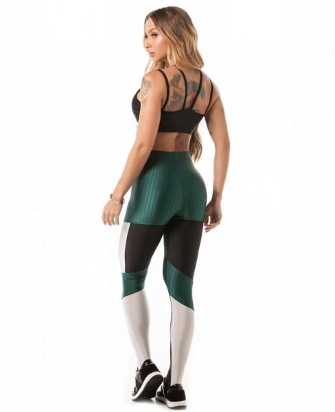 Fitness Leggings Verde LET´SGYM Ikate