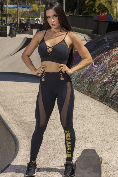 Sport Leggings Rise Saturn HIPKINI