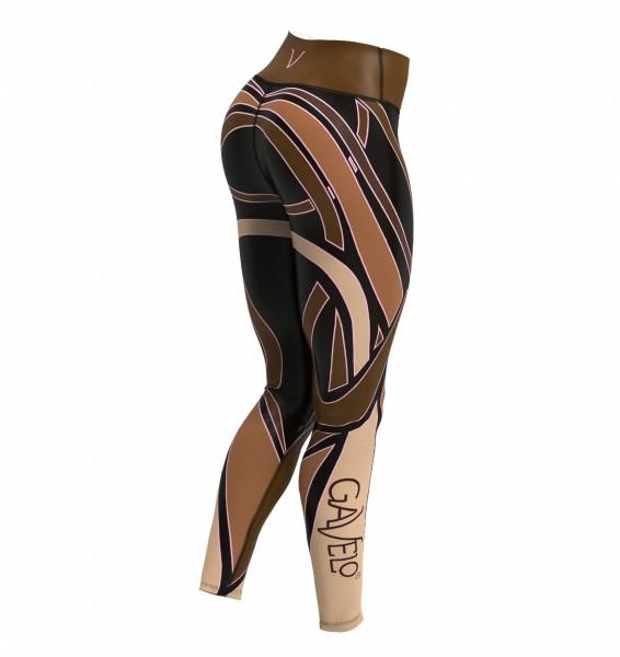 Fitness Legging Gavelo Cacao Gr. XS