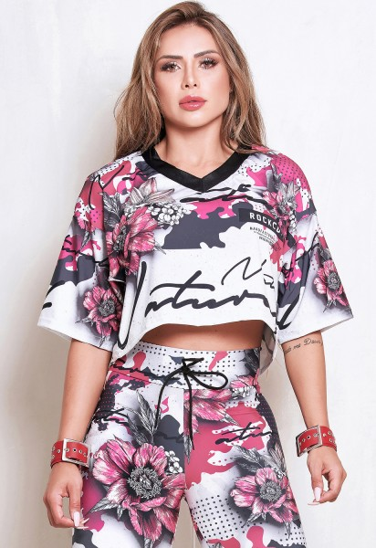 Rock Code Cropped Top Daydream