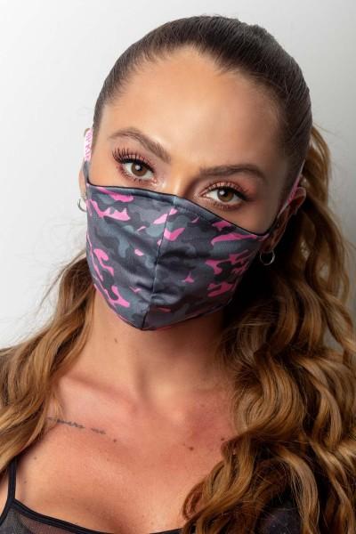 Gym Mask Pink Camouflage HIPKINI