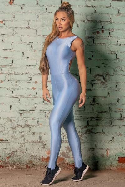 Fitness Overall Sweat Blue HIPKINI
