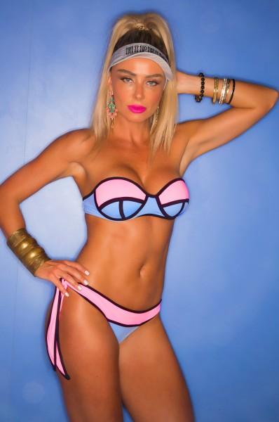 HIPKINI Bikini Set Amestista Bandeau