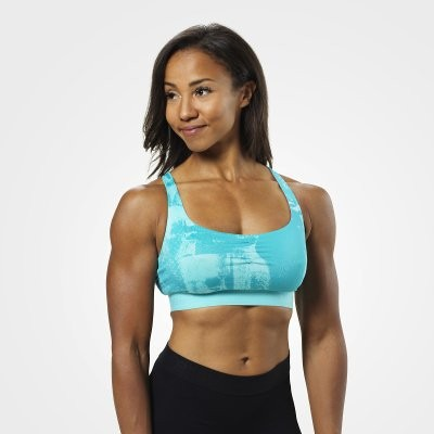 Better Bodies Sport Top Aqua Blue