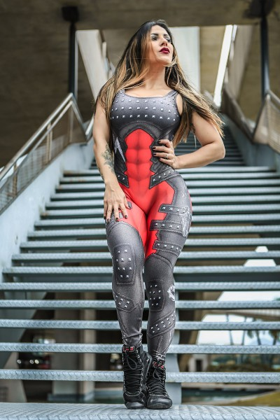 Fitness Jumpsuit Double Trouble Dynamite
