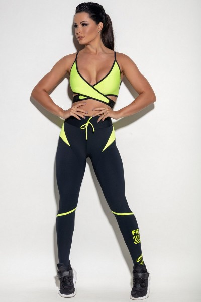 Set Sport Leggings Urban Delhi + Sport Bra HIPKINI