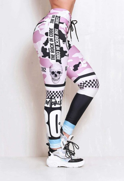 Fitness Leggings Rock Code Soldier