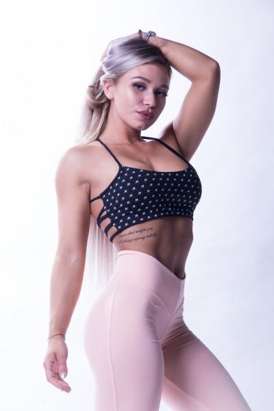 NS Sport-Bra NEBBIA Black