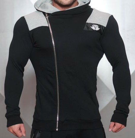 Body Engineers YUREI Hoody BLACK ANTRA