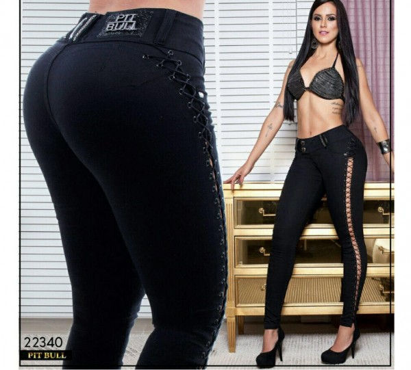 Pitbull Jeans Push-Up Black Beauty