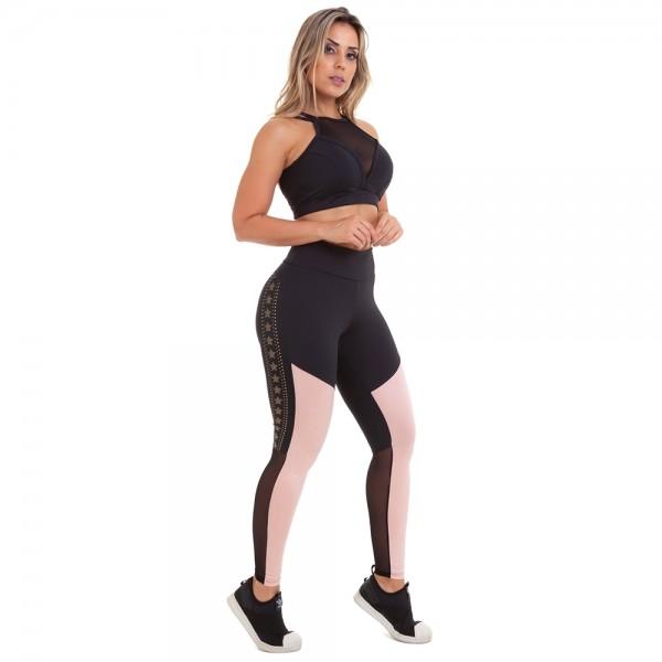 Fitness Legging Cajubrasil NZ Energy NUDE