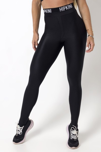 Schwarze High Waist Fitness Leggings