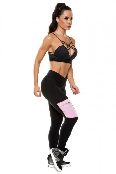 Sport Leggings Bele Hipkini