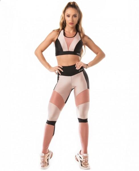 Fitness Leggings Airy Shine Preto