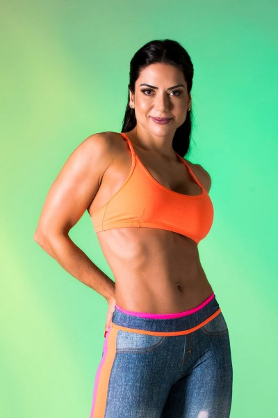 Sports-Bra CANOAN Orange 2.0