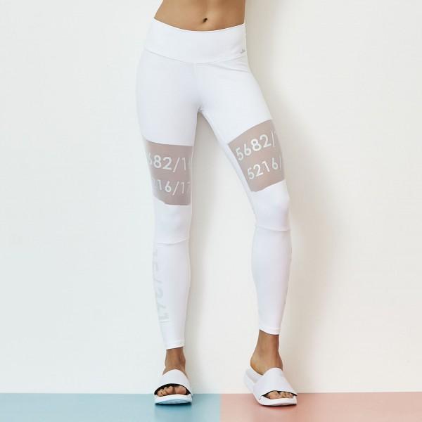 Fitness Legging Cajubrasil Number Blanco