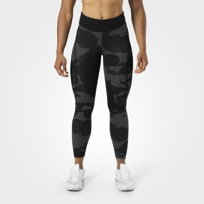 Better Bodies Sport Tight 7/8 Camo Dark Black