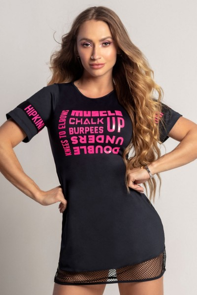 Fitness Longshirt Dream Pink HIPKINI