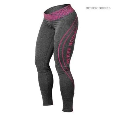 Better Bodies Leggings Pink Melange Gr. XS