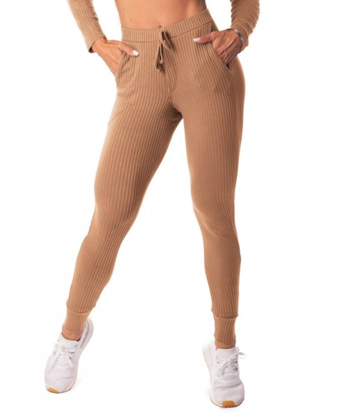 Ribbed Jogger Nude LET´SGYM