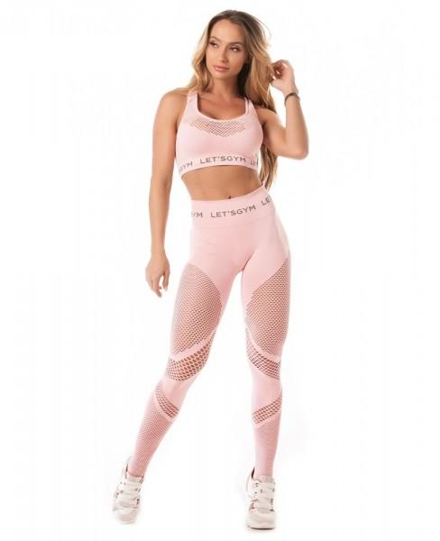 Seamless Fitness-Leggings Rose