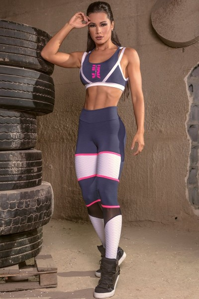 Fitness Leggings Army Instruction HIPKINI