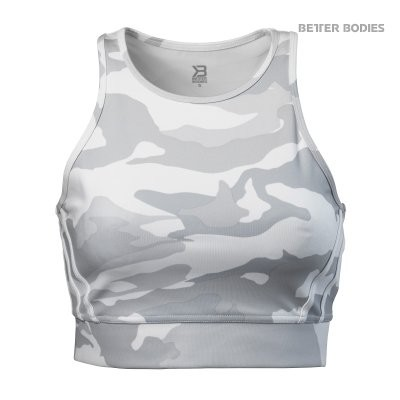 Better Bodies Sport Top Chelsea White Camo