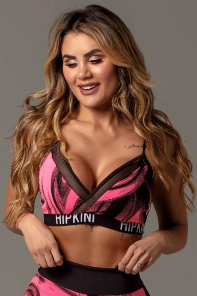 Fitness Bra Attitude Pink HIPKINI