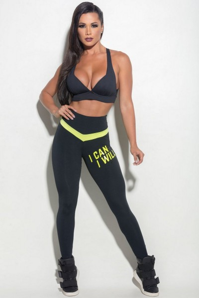 Fitness Leggings HIPKINI Ocean